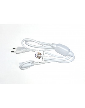 Шнур электропитания для подключения гирлянд 220V