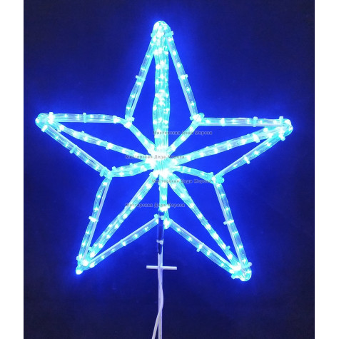 Макушка Кремлевская эконом 50см цвет синий