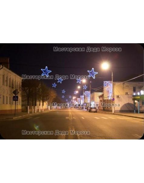 Световая перетяжка «Рождественская сказка» 400*110см