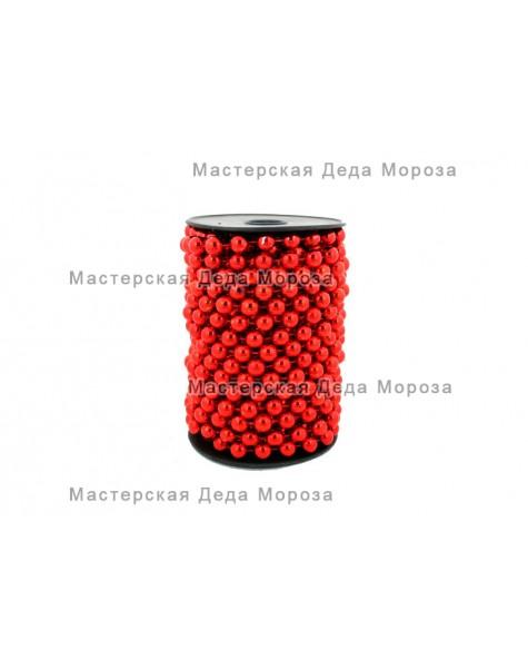 Бусы шарики d=14мм длина 5м цвета: Золото, Серебро, Красный