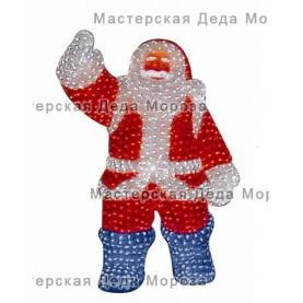 Световая Акриловая Фигура Санта Клаус 210см