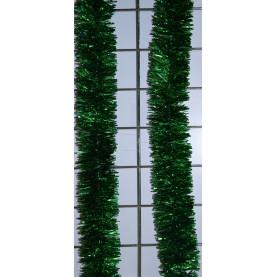 Мишура новогодняя Сибирская  диаметр 5 см цвет зеленый