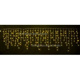Светодиодная бахрома 3*0,9м МЕРЦАЮЩАЯ цвет желтый