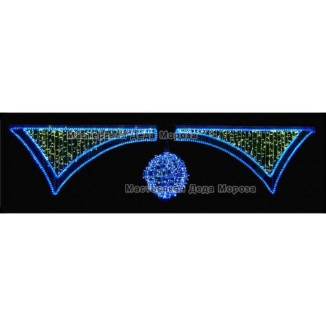 Световая перетяжка «Триумфальная арка» 400*110см