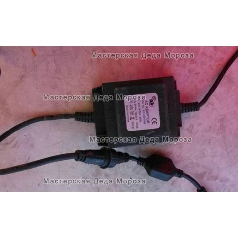Трансформатор для гирлянд 24V, 30Вт