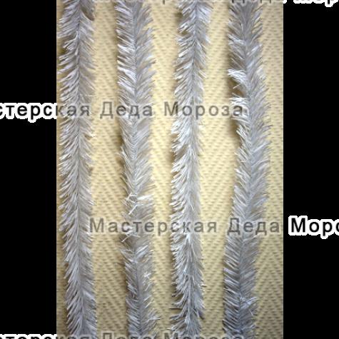 Еловая лента длина 6 м, d=5 см Белая