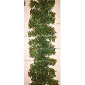 Еловая гирлянда d-15см цвет зеленый длина 2,7м