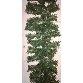 Еловая гирлянда d-20см цвет зеленый длина 2,7м