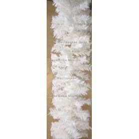 Еловая гирлянда цвет белый длина 2,7м
