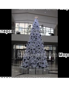 Ель искусственная Императрица 3м - 6м цвет белый