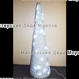 Ель световая Конус цвет Белый 1,5м - 3м