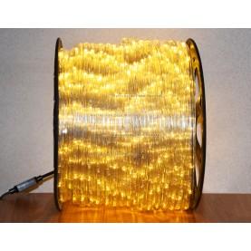 Дюралайт LED 10,5мм  100 м цвет тёплый белый