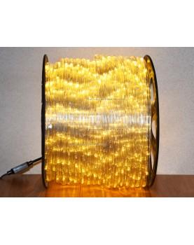 Дюралайт LED 100 м. тёплый белый