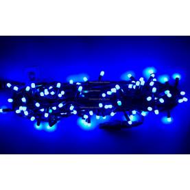 Светодиодная гирлянда с колпачками 10м цвет синий постоянное свечение  IP65