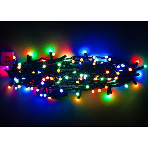 Светодиодная гирлянда с колпачками 10м цвет мульти IP65