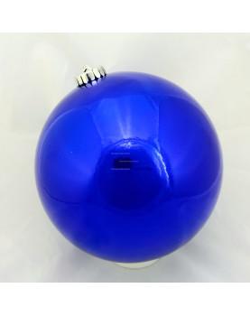 Шар d=15см цвет синий глянцевый (1шт/уп)
