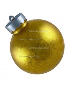 Шар d=15см цвет золотой блестящий (1шт/уп)