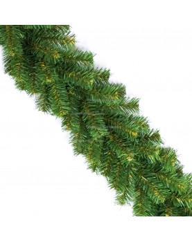 Еловая гирлянда d-20см цвет зеленый длина 2,7м (220 веток)