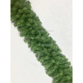 Еловая гирлянда d-40см цвет зеленый длина 2,7м